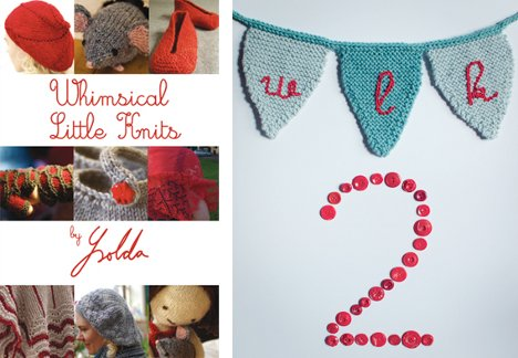 Ysoldas Whimsical Little Knits 1 og 2