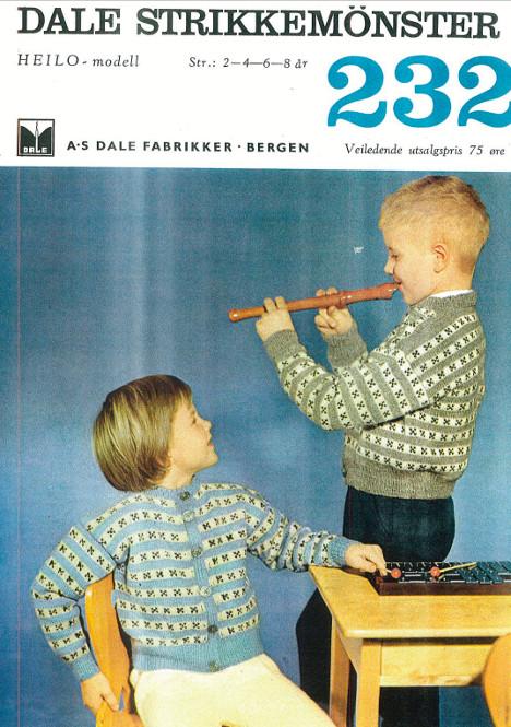 Nostalgisk barnejakke