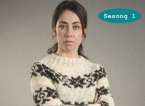 Sarah Lunds genser fra Forbrytelsen 3