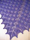 Shetland Triangle Lace Shawl