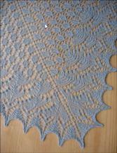 Swallowtail Lace Shawl