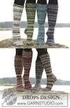 Lange DROPS-sokker