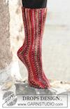 Rillestrikket sokk
