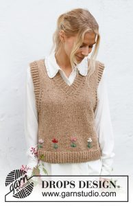 May Flowers Vest