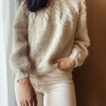 Perletwistsweater