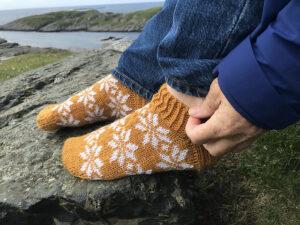 Lettknit Rose Socks
