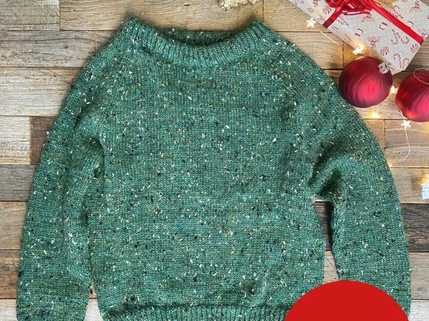Ugly Christmas Sweater til barn