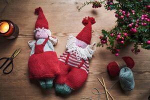 Søte julenisser